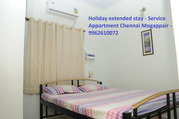 Deluxe Service Appartments - Mogappair,  Chennai